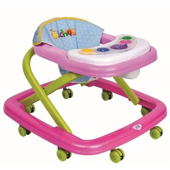 ANDADOR BEBÊ MAGIC TOYS ROSA
